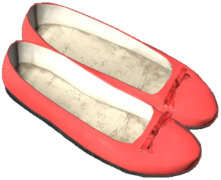 FlatShoes_Red